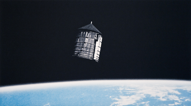 Water Tower In Orbit